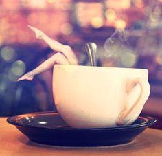 It's time for a great big giant coffee break! Cuppa Femininity by Kattyish Coffee Girl, I Love Coffee, Hot Coffee, Coffee Shop, Coffee Cups, Sexy Coffee, Good Morning Coffee, Coffee Break, Coffee Milkshake