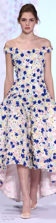 Ralph & Russo Spring 2016  women fashion outfit clothing style apparel @roressclothes closet ideas