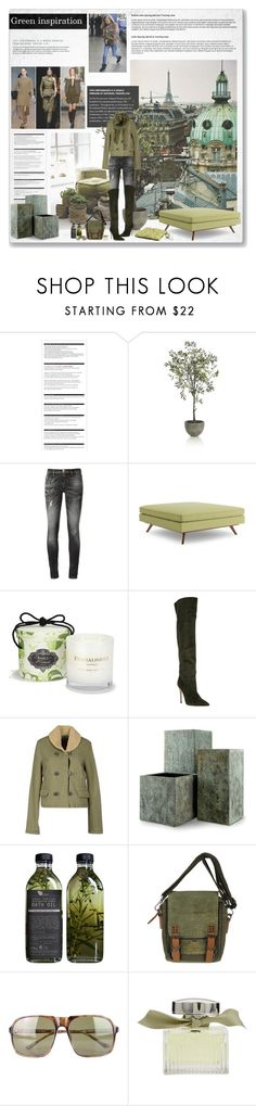 """Sin título #4946"" by betina-reali ❤ liked on Polyvore featuring Arche, Crate and Barrel, Philipp Plein, Thrive, PENHALIGON'S, Gianvito Rossi, Denim & Supply by Ralph Lauren, Capital Garden Products, Diesel and Dries Van Noten"