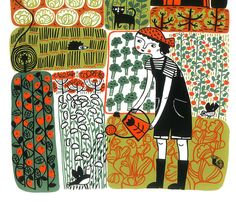 The Allotment by MinaBraun on Etsy