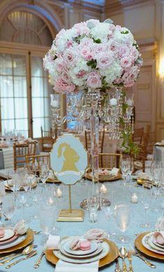 Wedding reception centerpiece idea; Featured Photographer: Caroline Tran Photography