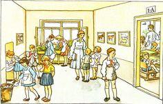 Škola, Živá abeceda ze šedesátých let – mestotouskov – album na Rajčeti Children, Books, Young Children, Boys, Libros, Kids, Book, Book Illustrations, Child