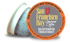 nice San Francisco Bay OneCup, Decaf French Roast, 36 Count- Single Serve Coffee, Compatible with Keurig K-cup Brewers