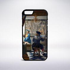 Jan Vermeer - The Art Of Painting Phone Case