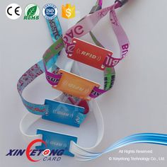 MIFARE 1K RFID FABRIC WOVEN WRISTBANDS