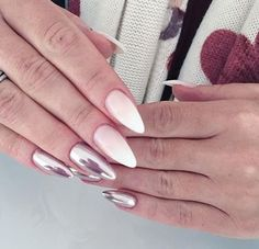 ❤️ nails babyboom chrome