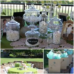 Shabby Chic Bridal Shower White Candy