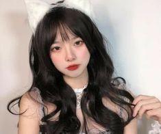 Pretty Korean Girls, Cute Korean Girl, Beautiful Asian Girls, Uzzlang Girl, Girl Face, Edgy Girls, Edgy Hair, Cute Photography, Ulzzang Korean Girl