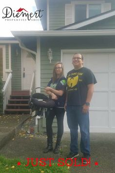 Congratulations Shawn & Liz on your new home!!! How fun to get your keys on Halloween🎃🏡  #DiemertPropertiesGroup #FirstHome #BestHalloweenEver