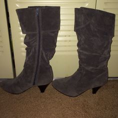 Boots----Gray