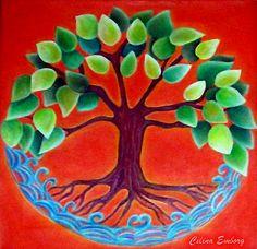 Árbol de la Vida  - Celina Emborg     En la antigüedad el árbol tenía una importancia vital para el ser humano.   Le proporcionaba abr...