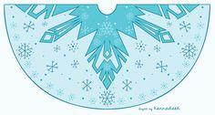 Elsa's cape design