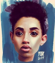 "1,479 Likes, 23 Comments - Lauren O. Ulieme (@unorthodoxfox) on Instagram: ""My @tomatosita Face Study // Photoshop x Surface Pro 4 // ©Lauren Ulieme #FoxThings SN: If You…"""
