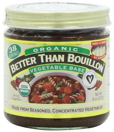 Betterthan Bouillon-Vegetable Base Organic, 8-Ounce (Pack of 3) >>> Wow! I love this. Check it out now! : Easy Dinner Meals