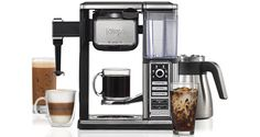 Ninja Coffee Bar CF097 Thermal Carafe System: The next-generation their drink making combo is a single serve and thermic bottle machine.