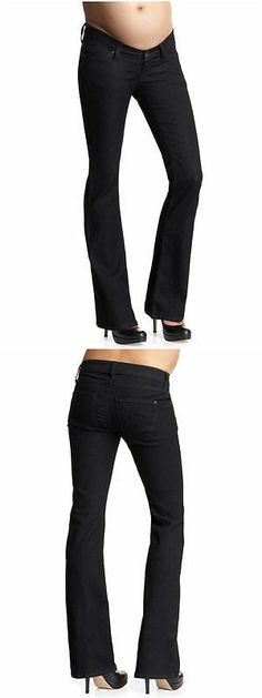 Jeans 11535: Nwt Designer James Jeans Maternity Jean Reboot Internal 30 In. Skinny Boot $167 -> BUY IT NOW ONLY: $49 on eBay!