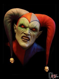 Joker-Killer Clown | Weird Characters and Weird Art | Pinterest