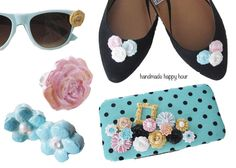 5 Spring Fashion DIYs with Mod Podge Melts and Molds