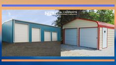 Get metal building for your or requirement. Metal Carports Direct provides you different types of like metal carports, garages, barns, RV shelters. online or call us for a FREE quote today. Rv Carports, Metal Carports, Metal Garages, Rv Shelter, Shelters, Metal Barn Kits, Metal Building Kits, Metal Buildings, Custom Metal