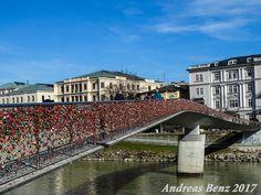 Brücke zum Schloss, Salzburg, Markatsteg