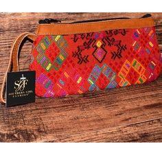 Southern Girl Fashion Bags - TRIBAL BAG Bohemian Embroidered Clutch Wristlet