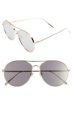 30fdcee3edcb GENTLE MONSTER RANNY RING 58MM AVIATOR SUNGLASSES - GOLD MIRROR.   gentlemonster  . ModeSens