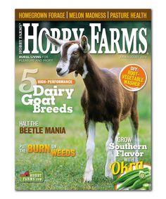Hobby Farms Magazine Subscription #zulily #zulilyfinds  $7 YEAR SUBSCRIPTION!