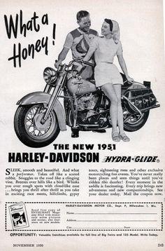 vintage harley davidson ads   Vintage Ads and Menus   Design Article by Graphisutra