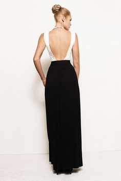 CHARLOTTE - More Colors - Backless Bandage Belt Jersey Gown Dress w Pockets (Michael Kors, Ralph Lauren, J.Crew, BCBG) Prom Pleated
