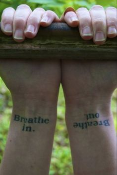 """Breath in. Breath out."" #tattoo"