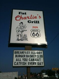 Fat Charlie's Grill, Route 66 - Sapulpa, Oklahoma