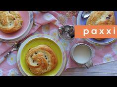 Δανέζικα ρολά με κρέμα βανίλιας και σταφίδες | Paxxi(C225) - YouTube