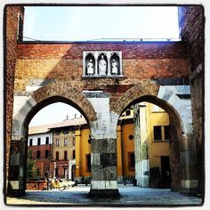 Milano ancient walls #architecture #city #Milano by Stella Marega