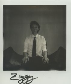 Ziggy at Milk Model Management. Instant Analogue by Cecilie Harris. Special thanks to Impossible.