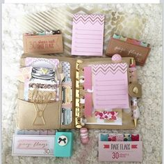 gold, pale pink and natural