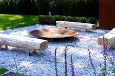 Znalezione obrazy dla zapytania nowoczesne palenisko ogrodowe