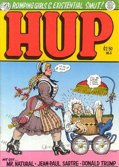 Hup 3 by #Robert_Crumb #underground_comics