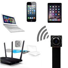 Spy Camera WiFi Mini Hidden HD Wireless Portable Security Covert Nanny for sale online Surveillance Equipment, Home Surveillance, Spy Pen Camera, Covert Cameras, Security Tools, Recording Equipment, Hidden Camera, Best Resolution, Invite Your Friends
