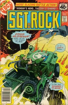 sgt rock 323 comic - Yahoo Image Search Results