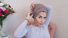New Hijab Tutorial Turban Style Dina Tokio 2015 – Beauty Shares Head Turban, Turban Hijab, Turban Tutorial, Hijab Tutorial, New Hijab, Dina Tokio, Muslimah Clothing, Hijab Fashion, Modest Fashion