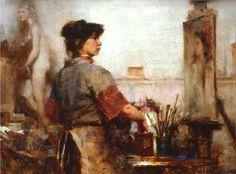 Richard Schmid - Nancy Painting