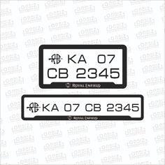 Royal Enfield Number Plate Re Number Plate Bullet Number Plate Design Pinner Seo Name S Collection Of 40 Number Plate Design Ideas In 2020