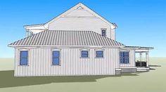 Plan 33090ZR: Net Zero Energy Farmhouse