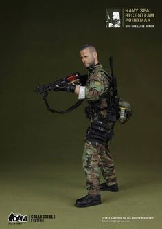 onesixthscalepictures: DAM Toys NAVY SEAL Recon Team Pointman : Latest product news for 1/6 scale figures (12 inch collectibles) from Sidesh...