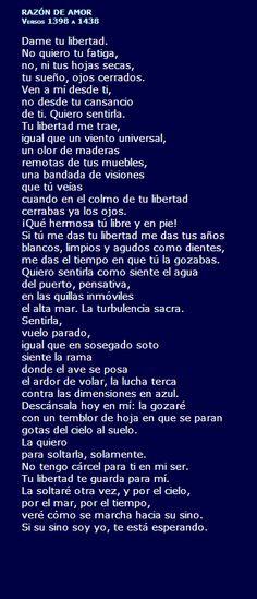 """""""Razón de Amor"""" poema de Pedro Salinas"""