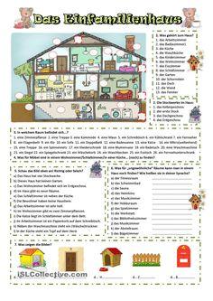 mein haus n met german language learn german deutsch. Black Bedroom Furniture Sets. Home Design Ideas