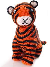 Fair Trade Crochet Tiger