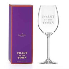 product image for kate spade new york Toast of the Town™ Wine Glass