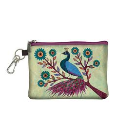 Another great find on #zulily! Blue Peacock Coin Purse by Passion for Fashion #zulilyfinds