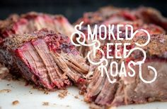 Hey there! Today I wanted to share my favorite roast beef recipe. Basically, I coat it with a simple dry rub before bringing it to the Traeger Grill to make a smoked beef roast. This roast beef is … Traeger Recipes, Roast Beef Recipes, Rib Recipes, Grilling Recipes, Traeger Roast Recipe, Smoked Roast Recipe, Traeger Bbq, Grilling Ideas, Sausage Recipes